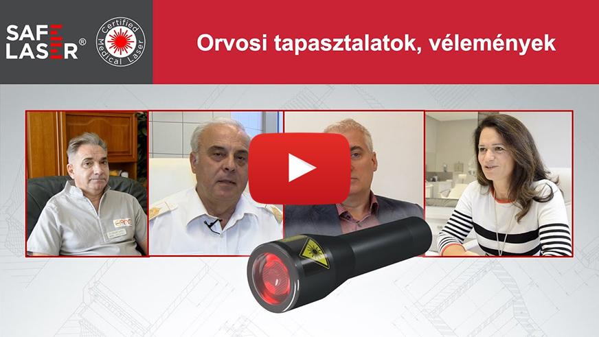 Safe Laser orvosi tapasztalatok