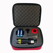 safe laser nyitott doboz
